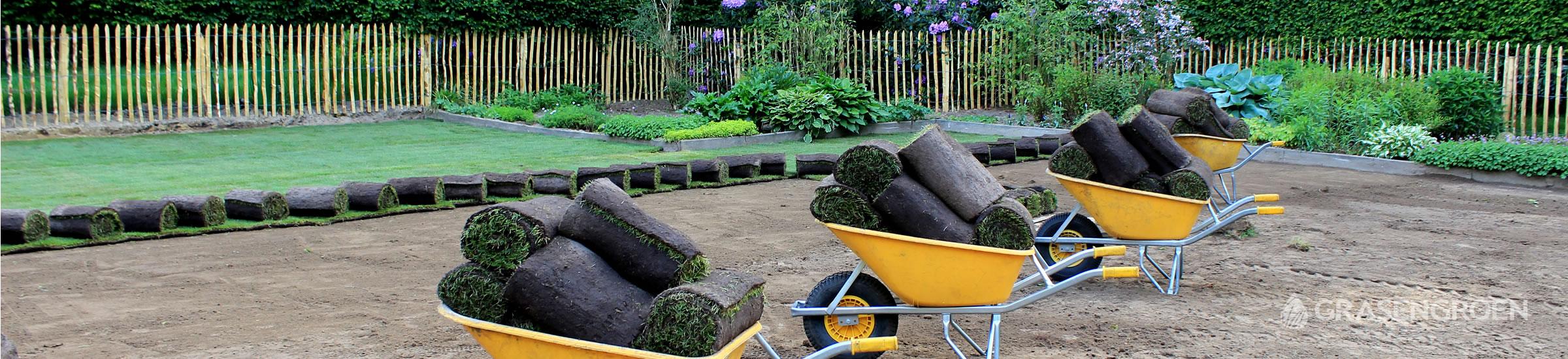 Zelfgraszodenleggen • Gras en Groen Winkel